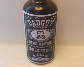 BadGuy Brand - Mango Machismo  beard and post shave oil 50ml