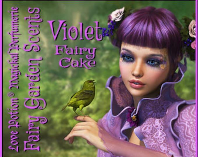 Fairy Cake: Violet - Sweet & Youthful Layerable Perfume - Love Potion Magickal Perfumerie