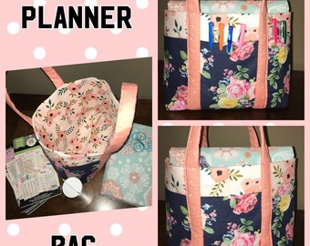 Planner bag- Tote bag (small/Med.)