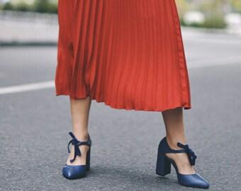 Blue shoes, bridesmaid shoes, Wedding Shoes, bridal shoes, pump shoes, heels shoes, pointed toe, pumps, leather pumps, Wedding Heels