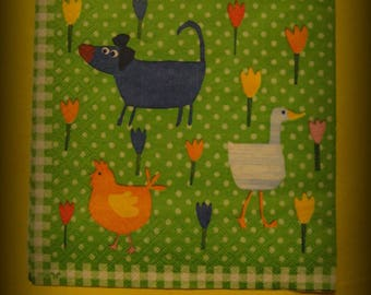 1 NAPKIN FOR DECOPATCH ANIMALS