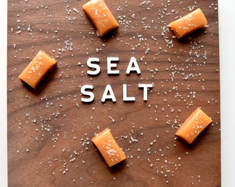 Sea Salt Soft Caramels (8 ounces)