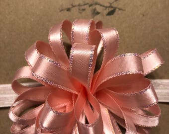 Pretty In Pink Party Bow Headband