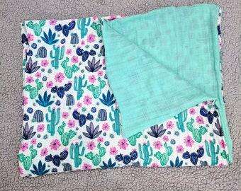 Layered Muslin Blanket