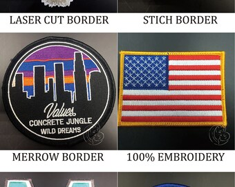 Custom woven patches no minimum