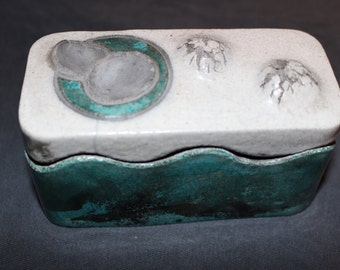 Original Vintage Modern Contemporary David Roth Fine American Conceptual Art Glazed Ceramic Pottery Sculpture 1979