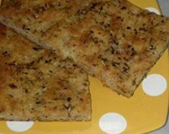 Garlic Focaccia Bread - Grain Free - Case of 9
