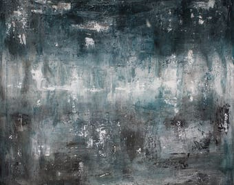 Original 3 ft by 3 ft Acrylic Contemporary/Abstract Piece