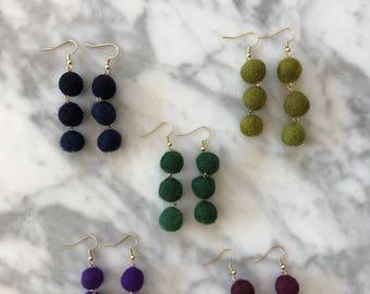 Mini 3 - Tier Pagoda Earrings