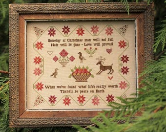 Someday at Christmas : Cross Stitch Pattern by Heartstring Samplery