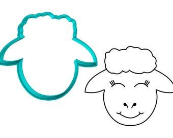 Sheep Face Cookie Cutter