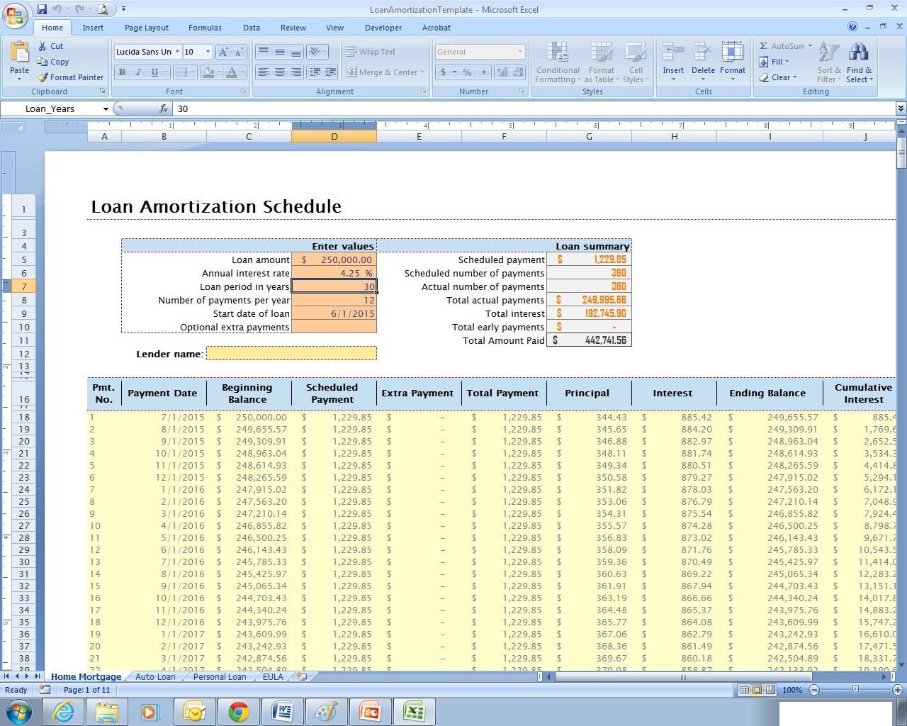 Zeitplan Excel-Kalkulationstabelle Vorlage für