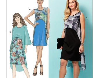 Butterick Sewing Pattern B6553 Misses' Dress