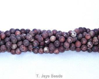 Apache Jasper Beads - 10mm