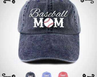 Baseball Mom Hat, Baseball Mom Cap, Baseball Mom, Baseball Hat, Baseball Cap, Mother's Day Gift