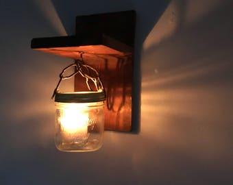 Wall candle lantern