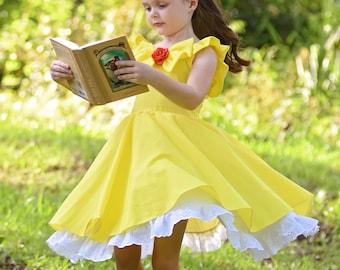 Girls Belle Costume Dress