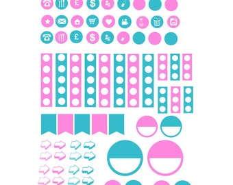 Planner Icon Stickers | We go together 002