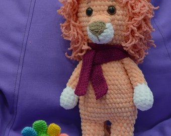 toys, animals, handmade, lion