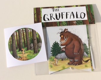 The Gruffalo Book Bunting and matching greetings card