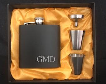 Groomsman Gift - Groomsmen Flask Sets - Groomsmen Gifts - Bridal Party Gifts - Gift for Groomsman - Gifts for Groomsmen - Bridesmaid Gift