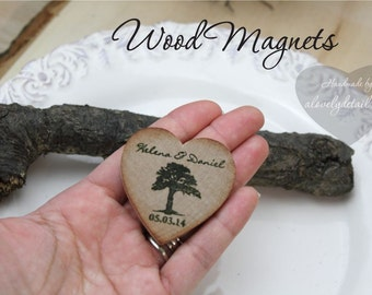 save the date magnet save the date Wedding Wood Save-the-Date Magnet, Wood Magnets . Wedding favors wood Wedding Favor Wood Magnets