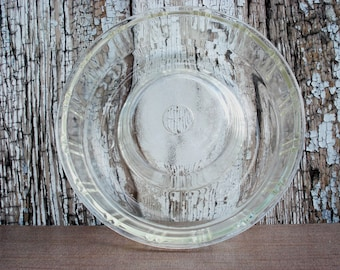 Vintage Glasbake Queen-Anne Bundt Pan Glass Jello Mold