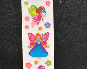 RARE Sandylion Stickers Scrapbooking vintage Shimmer Fairy, Fairies  - Brand New In Package