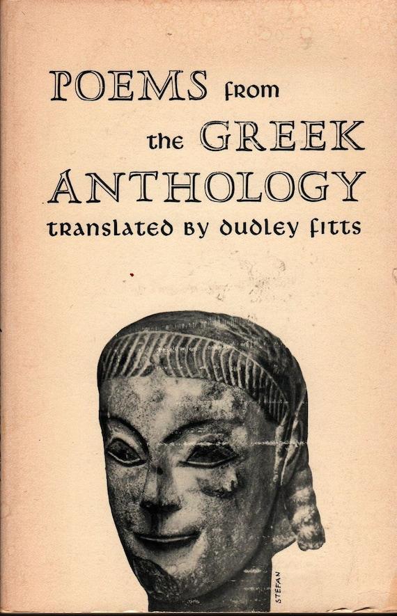 Poems From the Greek Anthology + Dudley Fitts, translator + 1956 + Vintage Book