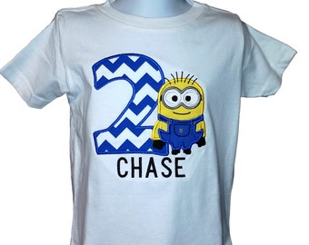 Minion inspired Birthday Shirt