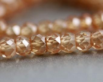 Natural Zircon Beads - 3mm - Zircon Beads - December Birthstone