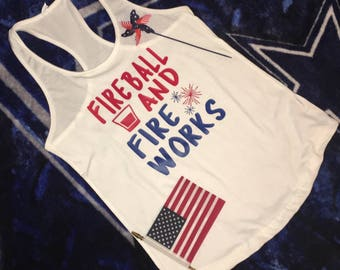 Custom 4th of July shirt/America/Patriotic/Red White and Blue