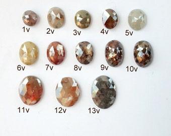 Oval and Cushion Cut Diamonds - Deposit