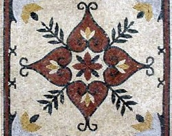 Artisan Flower Mosaic - Hada