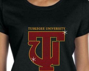Tuskegee Rhinestone T-shirt