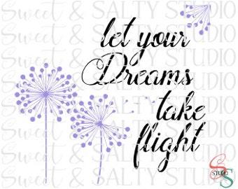 let your dreams take flight digital file