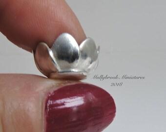Fine Silver 12th Scale  Bowl