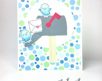 Handmade Happy Mail Card