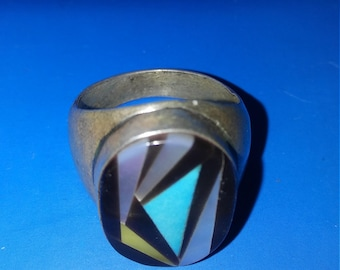 Vintage Sterling Man's Ring