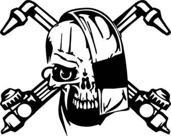 Pirate Skull Decal