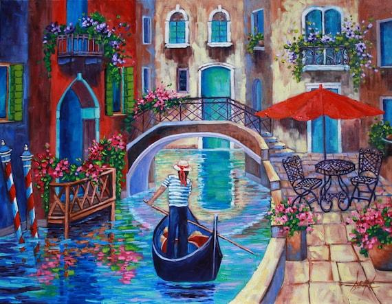 Venice Huge Wall Paintings
