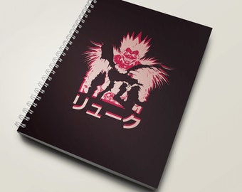 Notebook Pink Shinigami Ryuk - Death Note