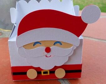 Box Santa Claus child