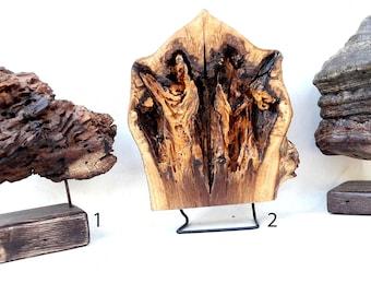 wood sculptures, decotaive wooden sculptures, tabletop sculptures
