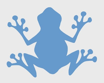 STENCIL (Reusable) Frog Different Sizes Available