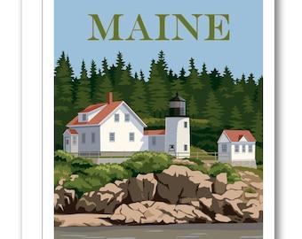 Bass Harbor Lighthouse Card BP09