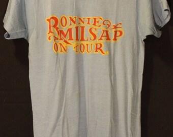 MINT Ronnie Millsap T-Shirt Concert Tour 1980's Vintage Medium New NEVER USED
