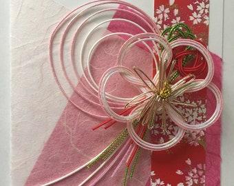 Japanese hand-made greeting card