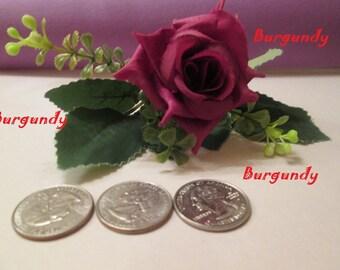 Rose Nature Hair Accessory/ hair clip/flower girl gift/gift for mom/gift for him/gift for her /gift for grandma/rose clip