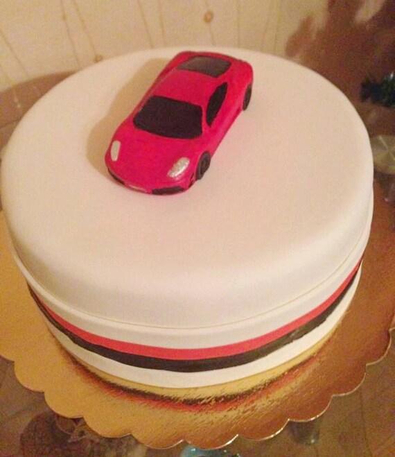 Silicone Mould Sports CAR Sugarcraft Cake Decorating Fondant